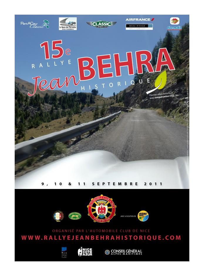 15e rallye jean behra historique 9 10 11 sept 20 for Garage jean behra